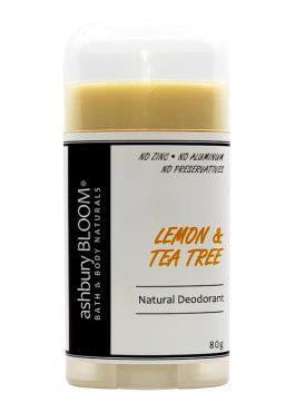 Lemon & Tea Tree Deodorant