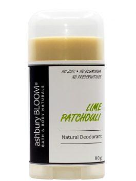 Lime Patchouli Deodorant