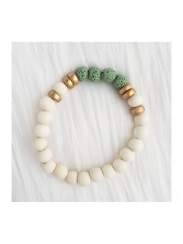 Mint Lava Stone Bracelet