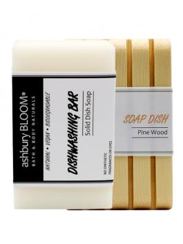 Dishwashing Bar + Soap Dish